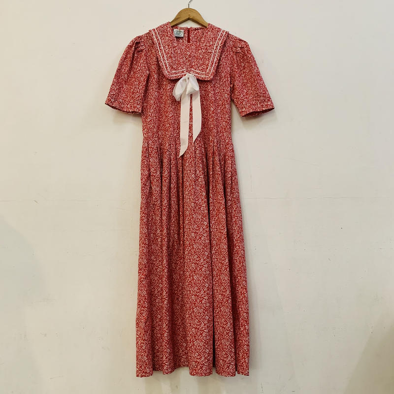 LAURA ASHLEY red sailor dress