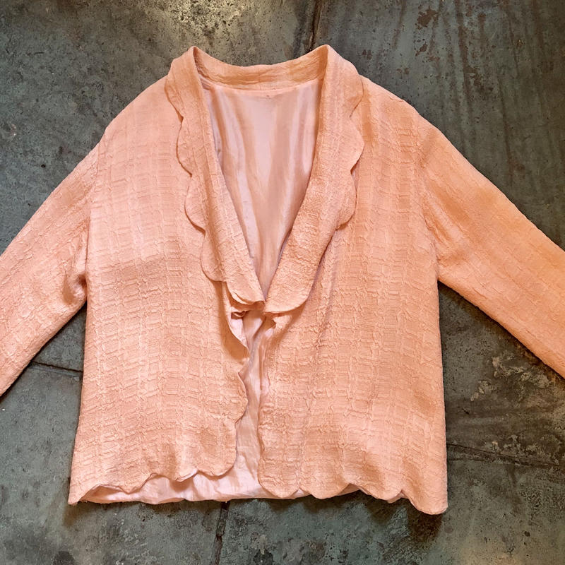 1930s pink jacket