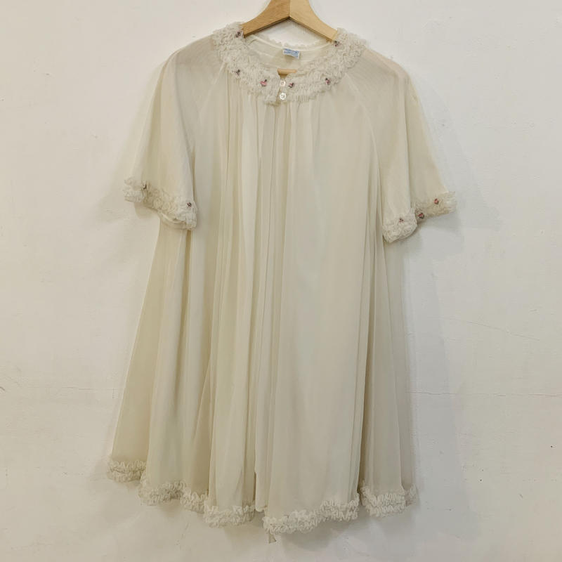 Vintage nylon sheer gown