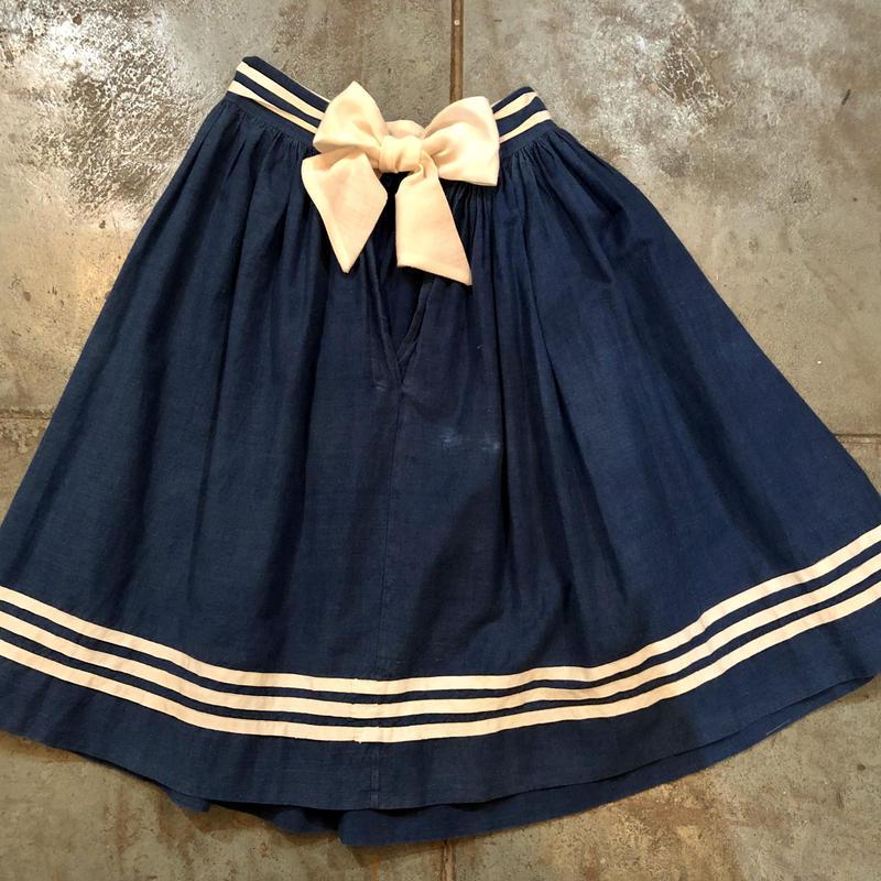 vintage  sailor skirt