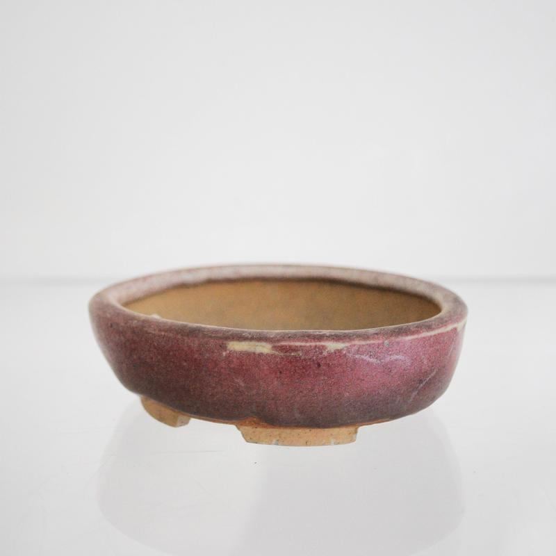 耀山  楕円鉢