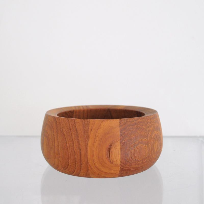 Dansk JHQ Teak Wood Salad Bowl