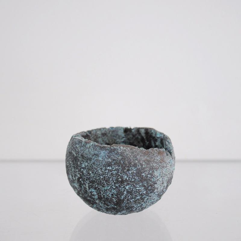 sabi bowl S / 緑青