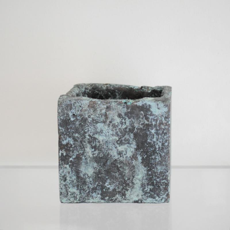 sabi cube / 緑青