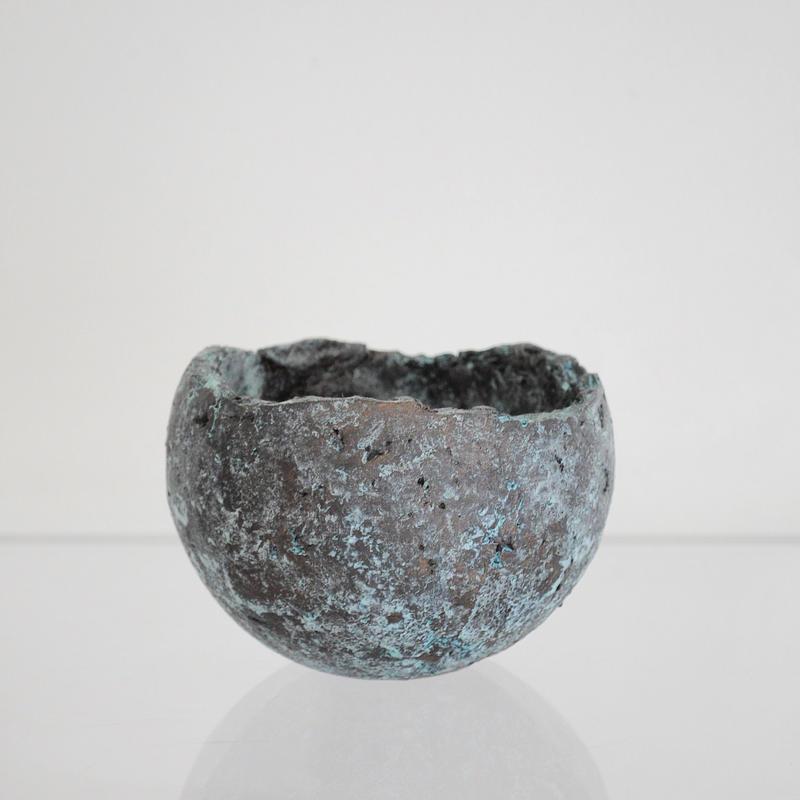 sabi bowl M / 緑青