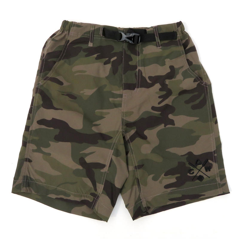 """WILD FINS×NEW CURRENT WORKS""""水陸両用"""" MOVING SHORT PANTS"""