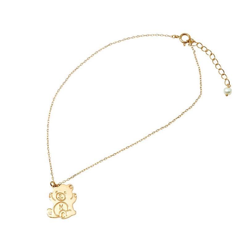 Promise Bear|K10ダイヤモンドイニシャルブレスレット