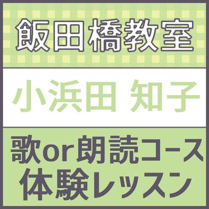 飯田橋 5月1日水曜日14時限定 講師 こはまだともこ