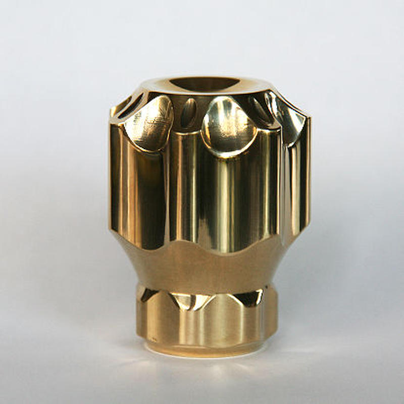 Jockey shift lever knob type-A brass