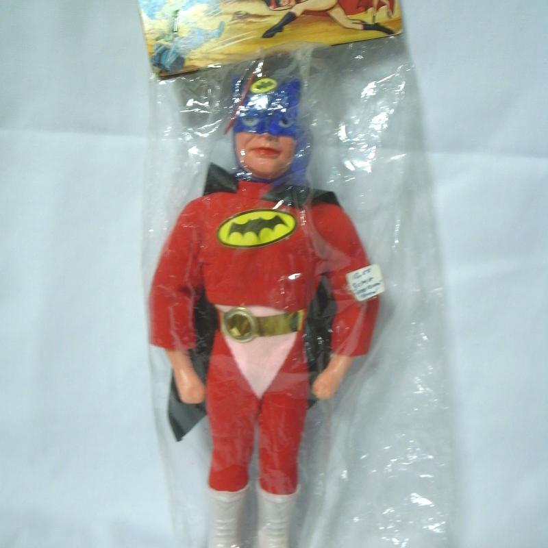 SPACE FLYMAN  Vintage BootlegToy  BATMAN パチ 赤服ver.