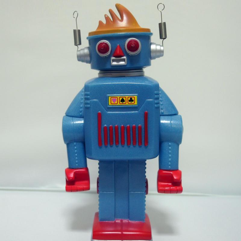 アートネイチャー:ロボット貯金箱 企業物ノベルティー
