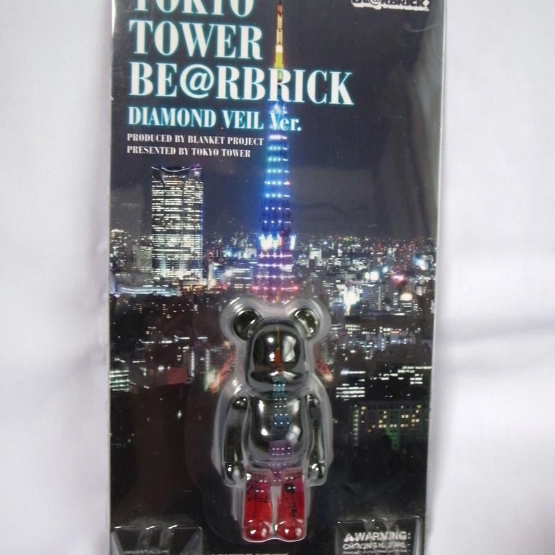 BE@RBRICK ベアブリック  東京タワー ダイヤモンドヴェールVer 100%  未開封