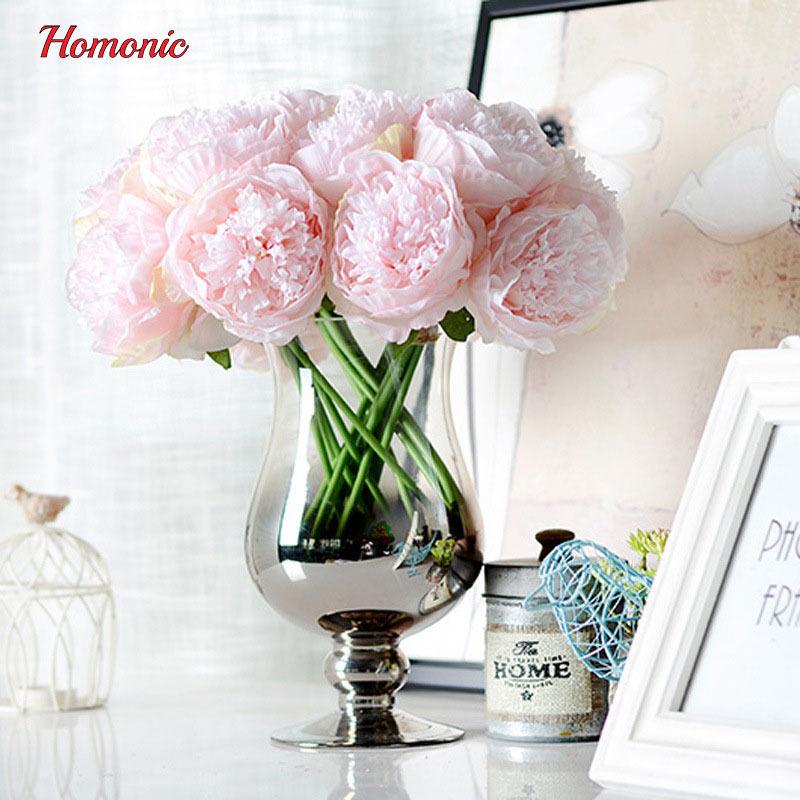 造花 芍薬 牡丹 ピオニー ピンク 高級 アートフラワー シルクフラワーまとめて15本花束 イベント ブーケ プレゼント 誕生日 お祝い