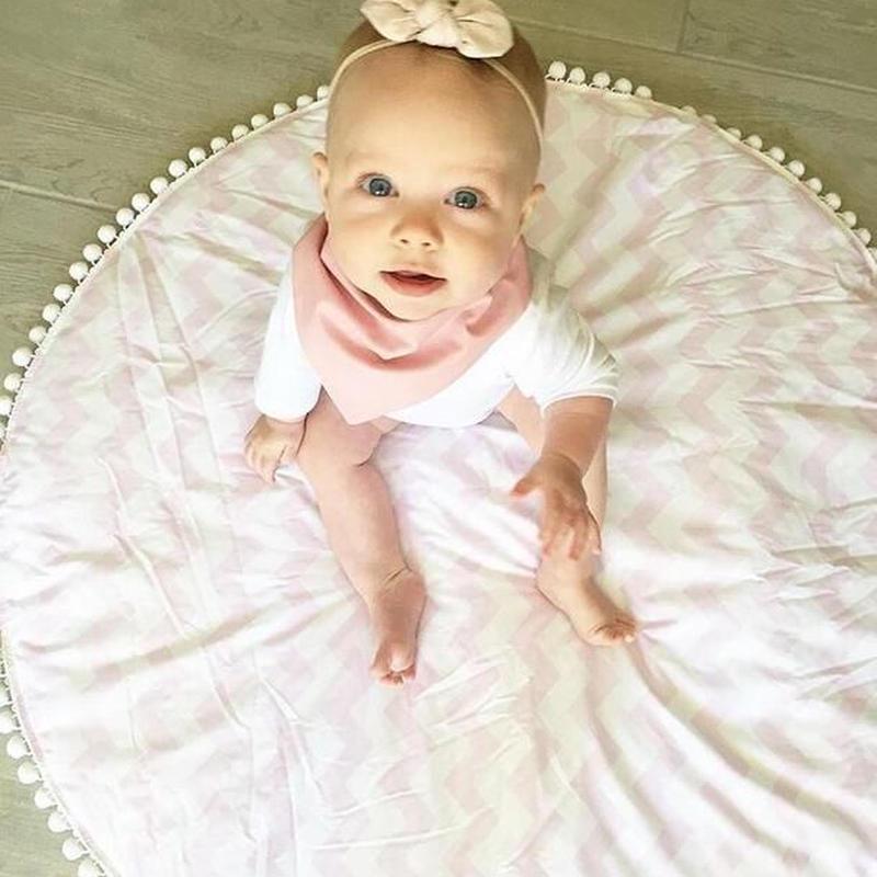 プレイマット ベビーマット サニーマット ラウンドマット インスタ映え 大きい かわいい 赤ちゃん ベビー リボーンドール