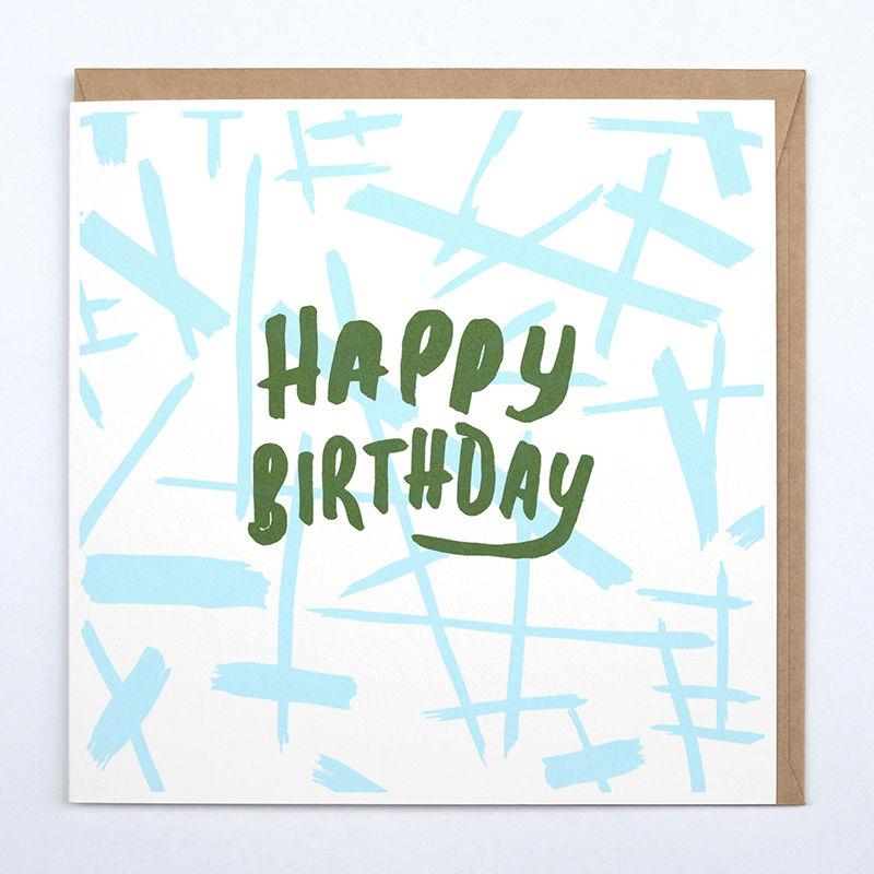 ギフトカード_HAPPY BIRTHDAY LINE