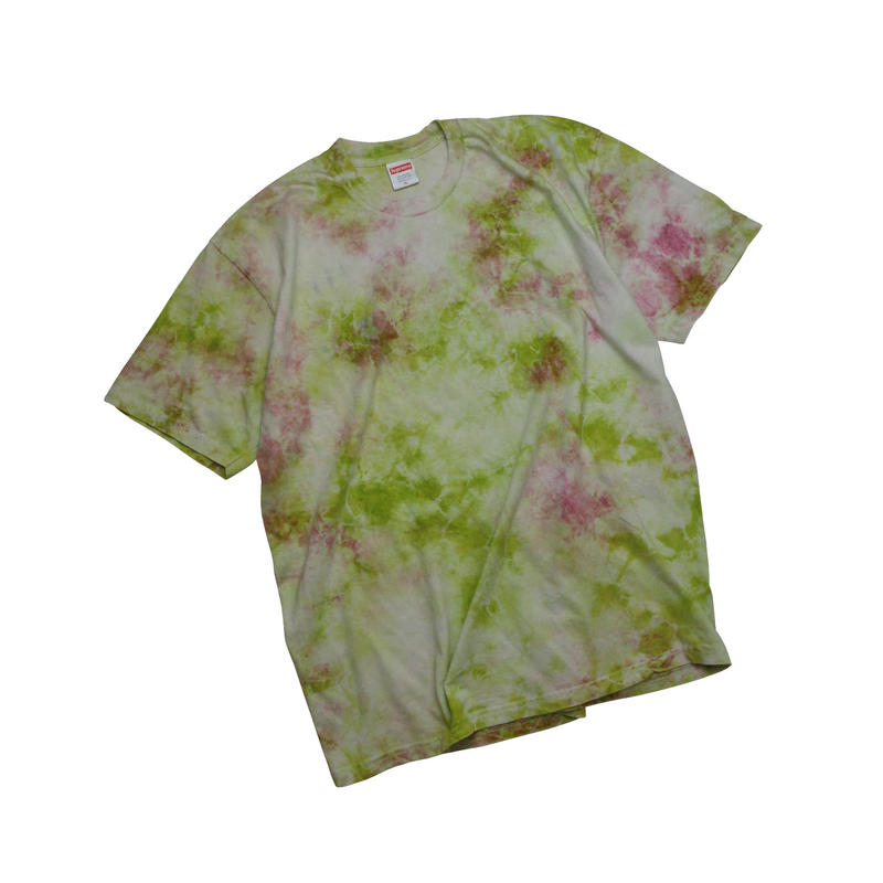 "USED ""SUPREME"" TIE DYE T-shirt"
