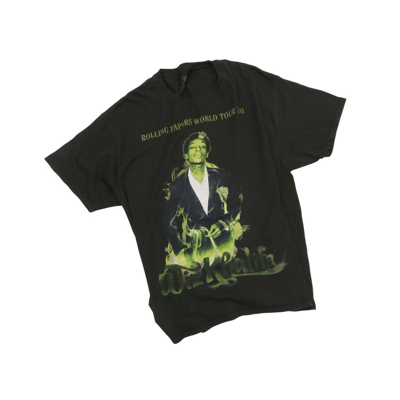 WIZ KALIFA ROLLING PAPERS WORLD TOUR Tshirts