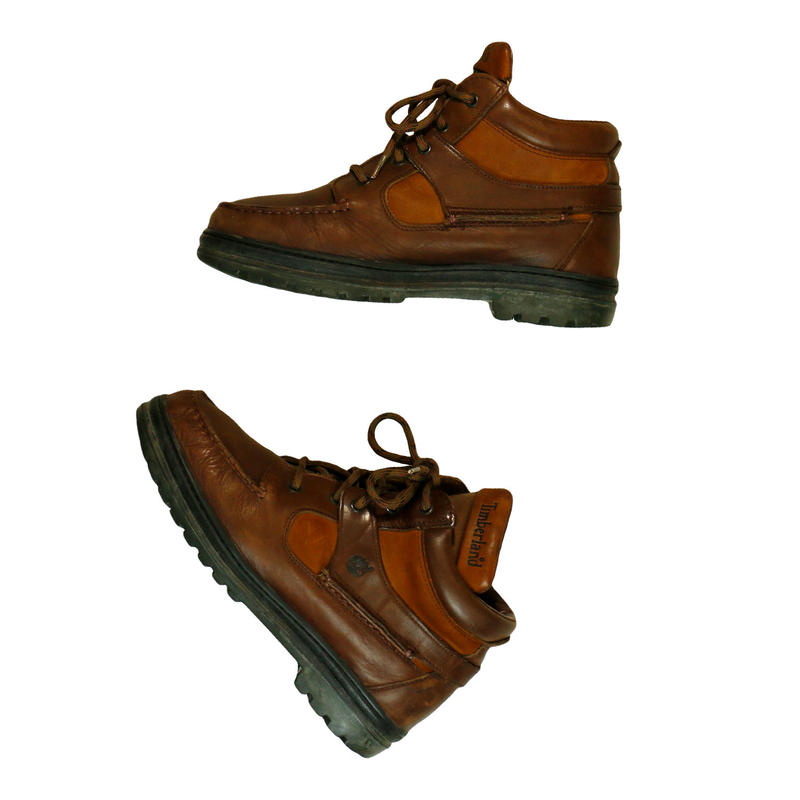"""USED """"TIMBERLAND MOC TOE / GORE-TEX"""" BOOTS"""