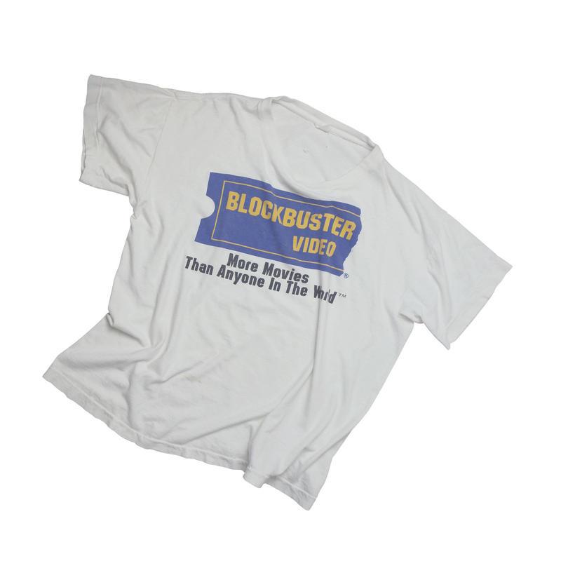 "USED ""BLOCKBUSTER VIDEO"" T-shirt"
