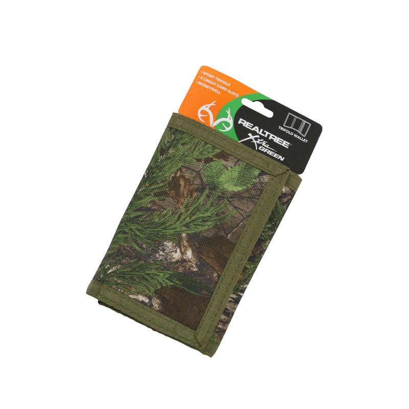 REALTREE NYLON TRIFOLD WALLET