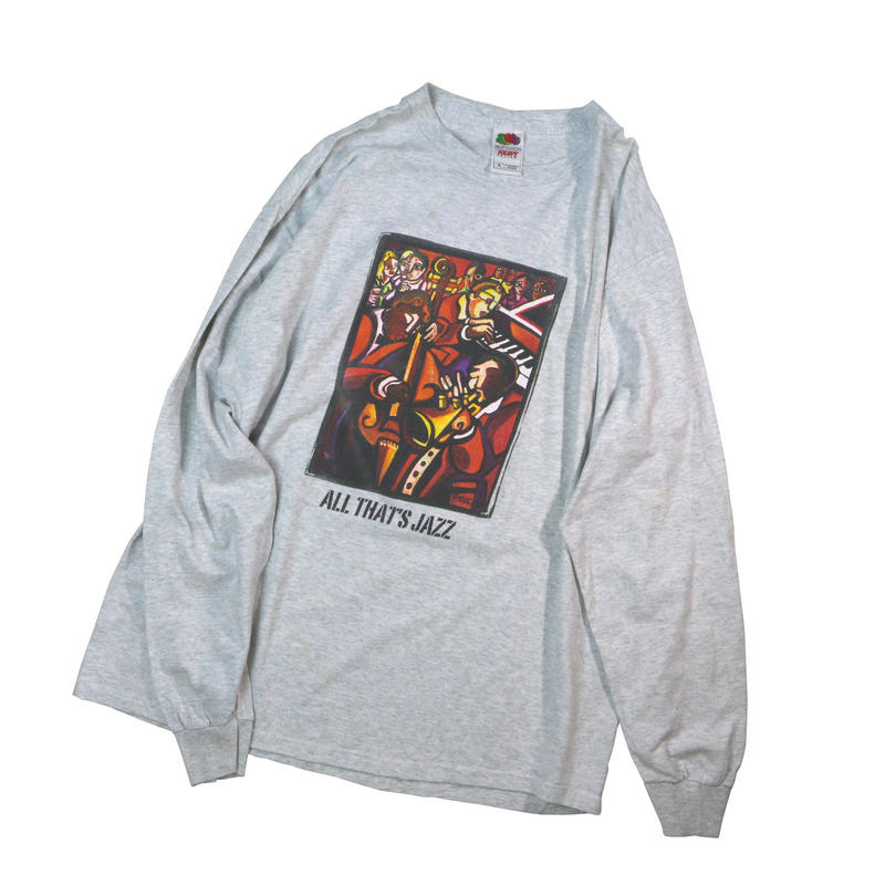 "USED ""ALL THAT JAZZ"" L/S T-shirt"