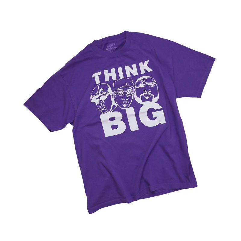 "USED ""THINK BIG"" T-shirt"