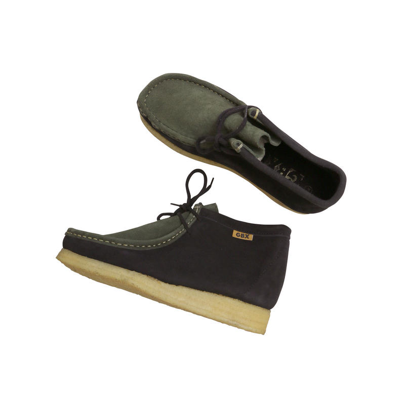 """GBX """"WALLABEE BOOTS"""" COMBI SUEDE DEAD STOCK"""
