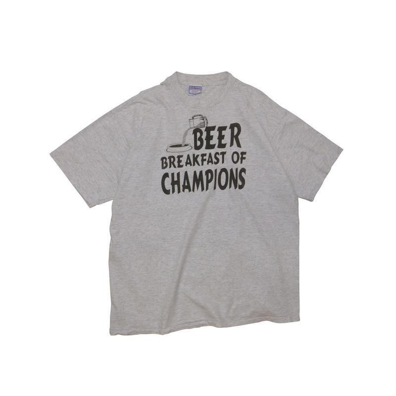"""BEER BREAKFAST OF CHAMPION"" USED Tshirt"