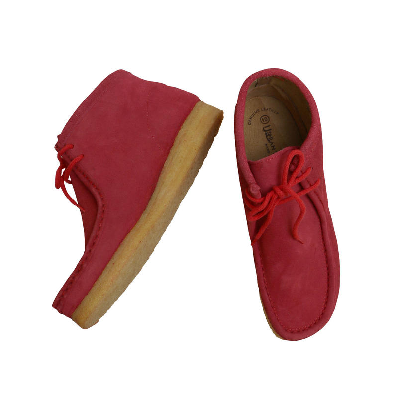 """URBAN TRENDS  """"WALLABEE BOOTS""""  RED DEAD STOCK"""