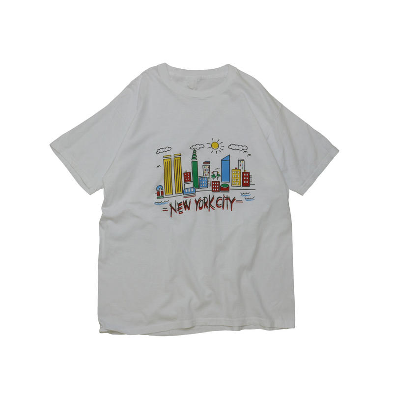 "90'S ""NEW YORK CITY"" SOUVENIR T-shirt"