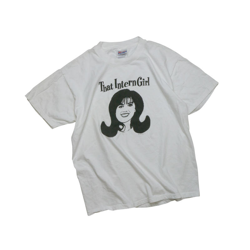 "USED ""THAT INTERN GIRL"" T-shirt"