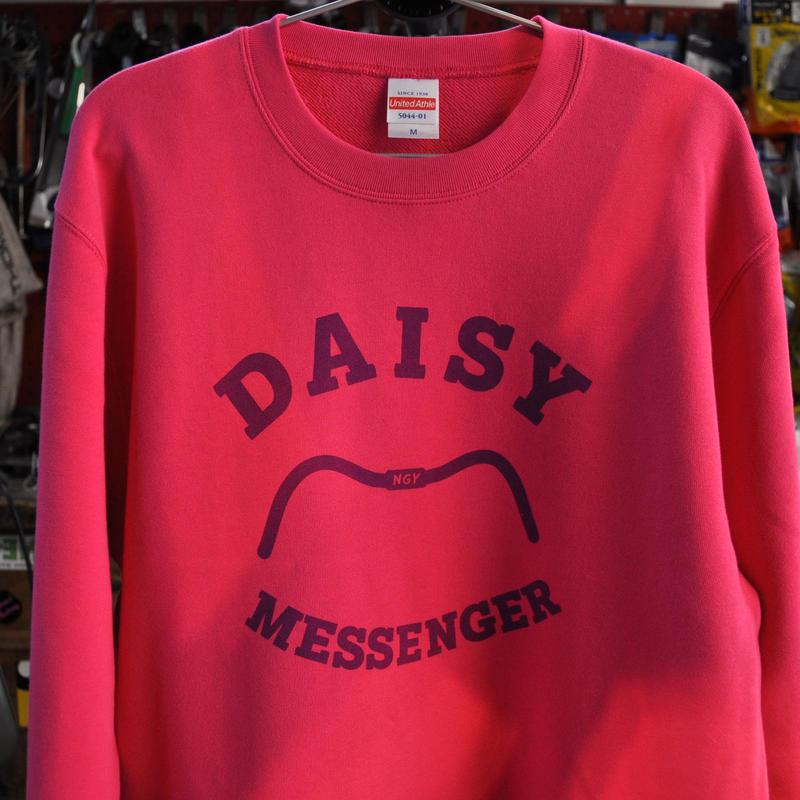 DAISY MESSENGER SWEAT SHIRT