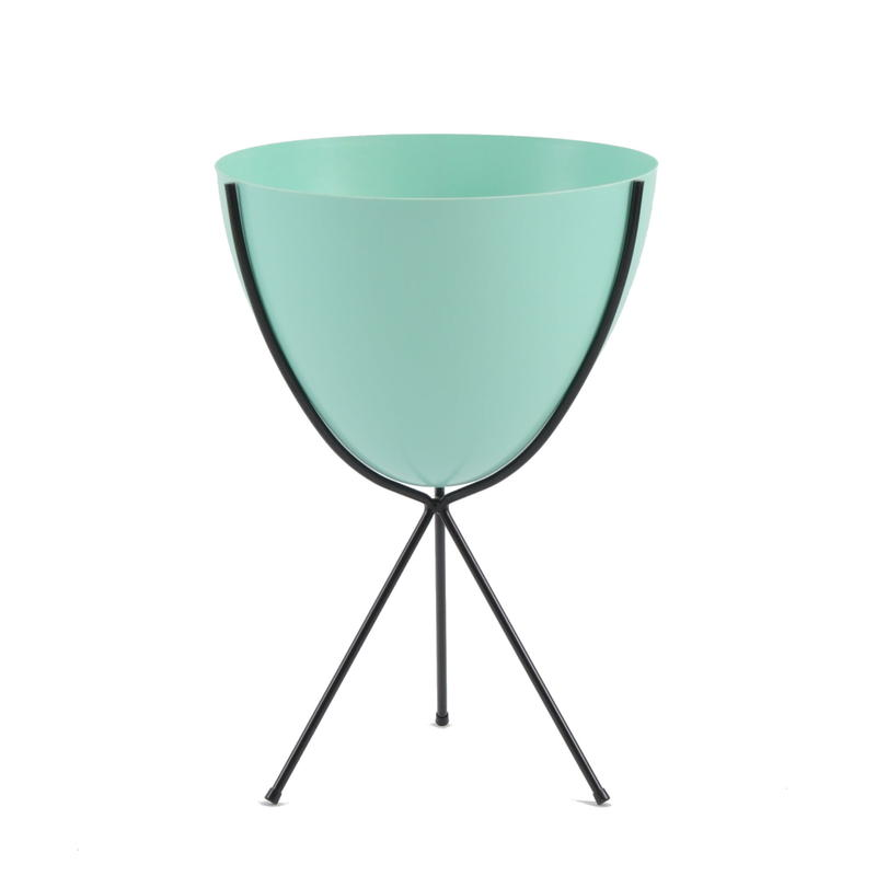 Retro Bullet Planter by Hip Haven™ – Medium(Turquoise)
