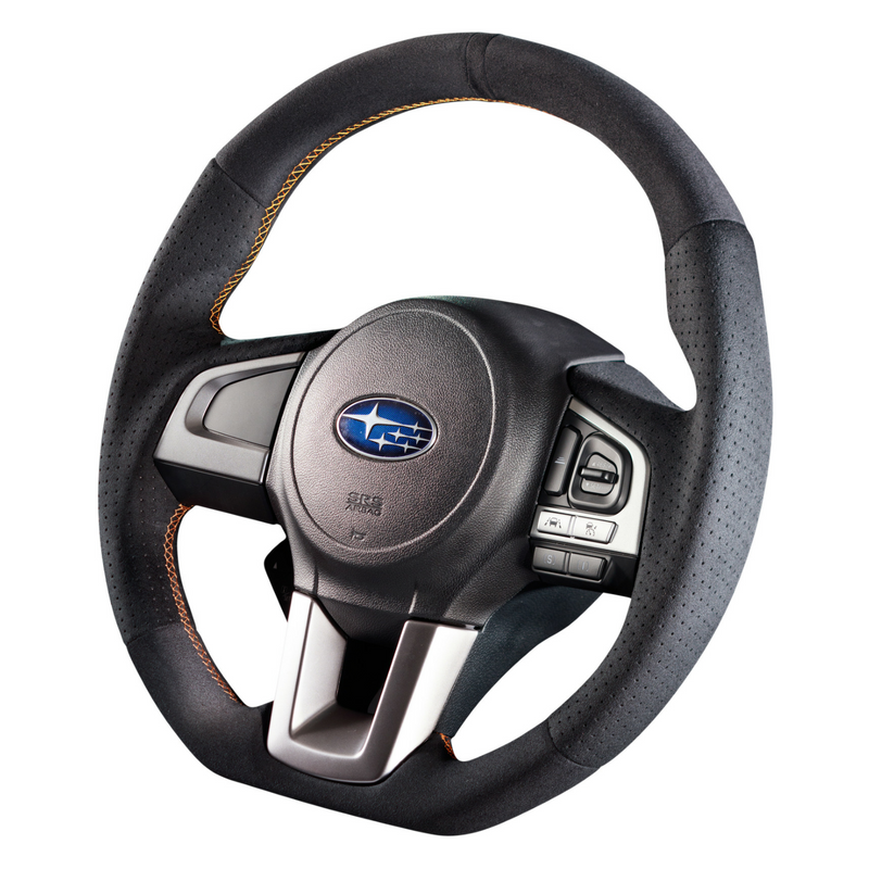 "DAMD Sports Steering Wheel for SUBARU ""SS362-RX"" Suede Type"