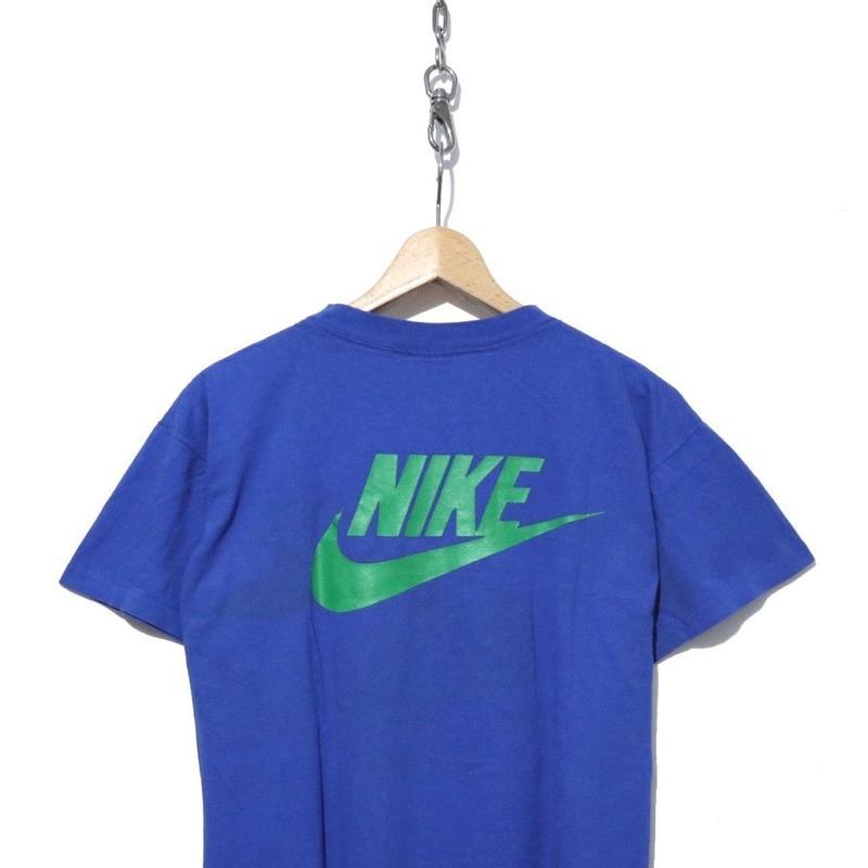 """90's NIKE バックSWOOSHプリント Tシャツ """"Air revolution"""" 銀タグ USA製"""