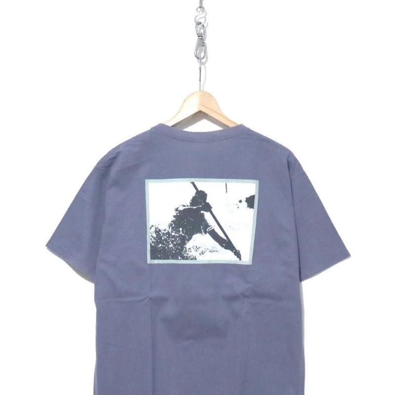 "90's PATAGONIA ""Benefical T's"" カヌープリント Tシャツ USA製 Mサイズ"