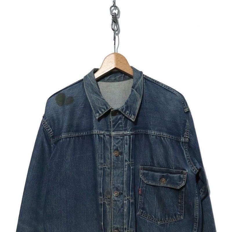 """40's LEVI'S 506XX 1st Denim Jacket """"BIG SIZE"""" 42~44相当"""