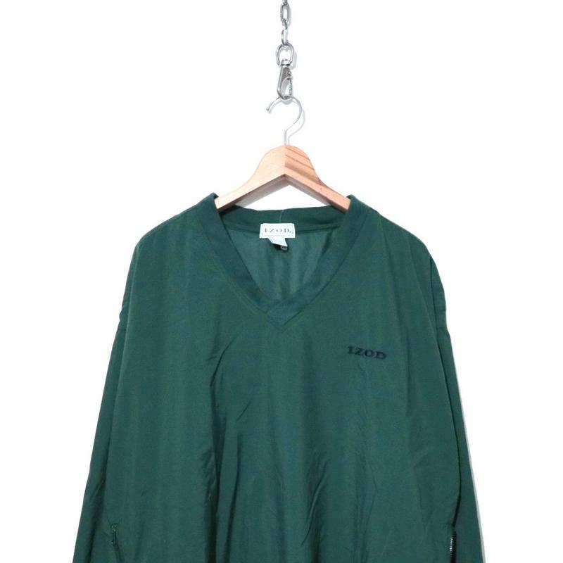 90's IZOD ナイロン プルオーバー パッカブル ジャケット Lサイズ