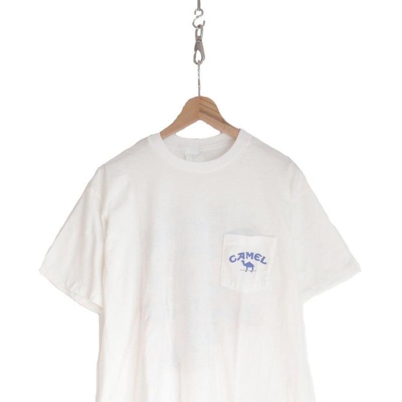 "90's ""CAMEL"" Pocket Tシャツ 両面プリント XLサイズ"