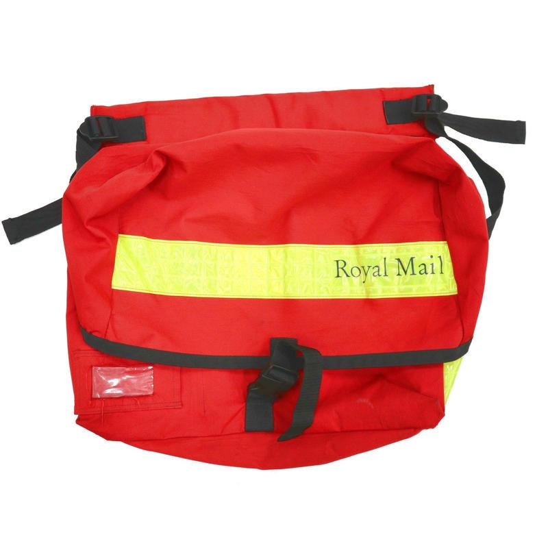 Royal Mail Reflector Messenger Bag RED