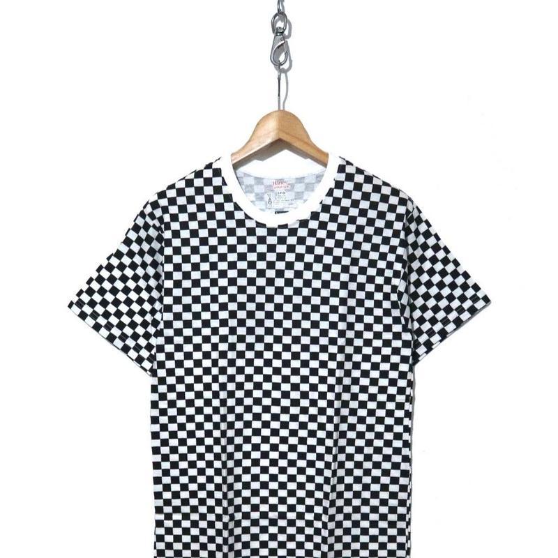 """新品 半タグ付き SUPREME×Hanes Pack-Tshirt """"CHECKER"""" Sサイズ"""