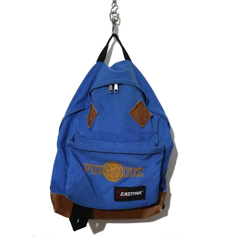 """80's EASTPAK USA製 """"PURDUE"""" プリント入り バックパック"""