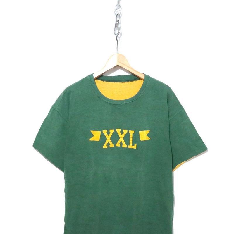 """60's Russell """"XXL"""" リバーシブル Tシャツ XXLサイズ USA製"""