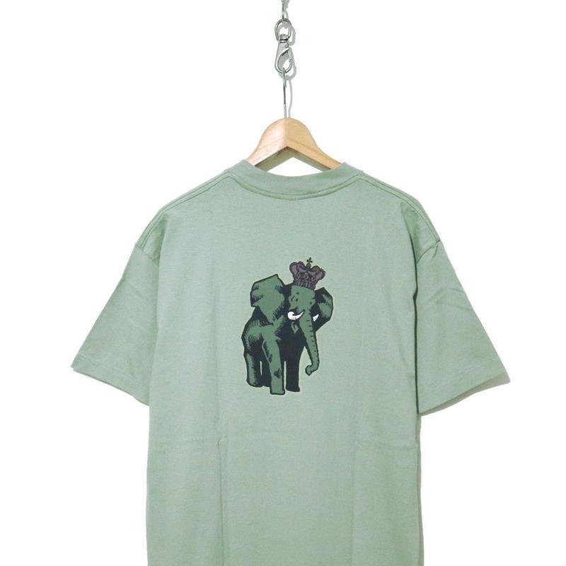 90's OLD STUSSY プリント Tシャツ 黒タグ XLサイズ USA製