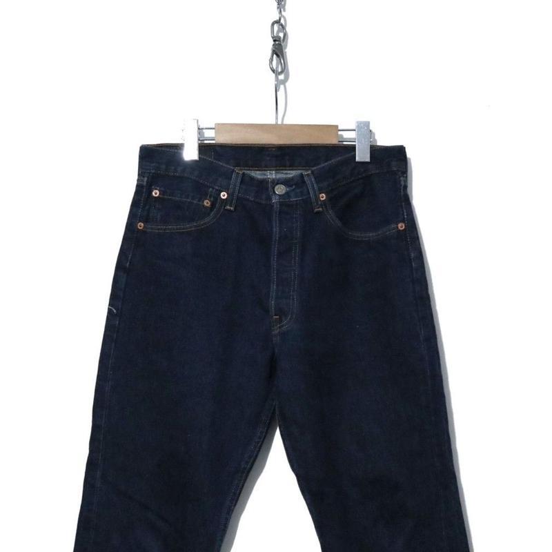 90's Levi's 501 DENIM PANTS 真っ紺 USA製 W30相当