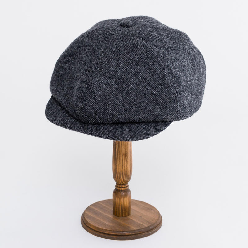 Herringbone hunting cap