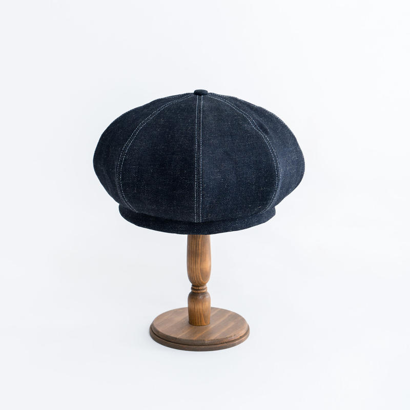 Soft denim beret