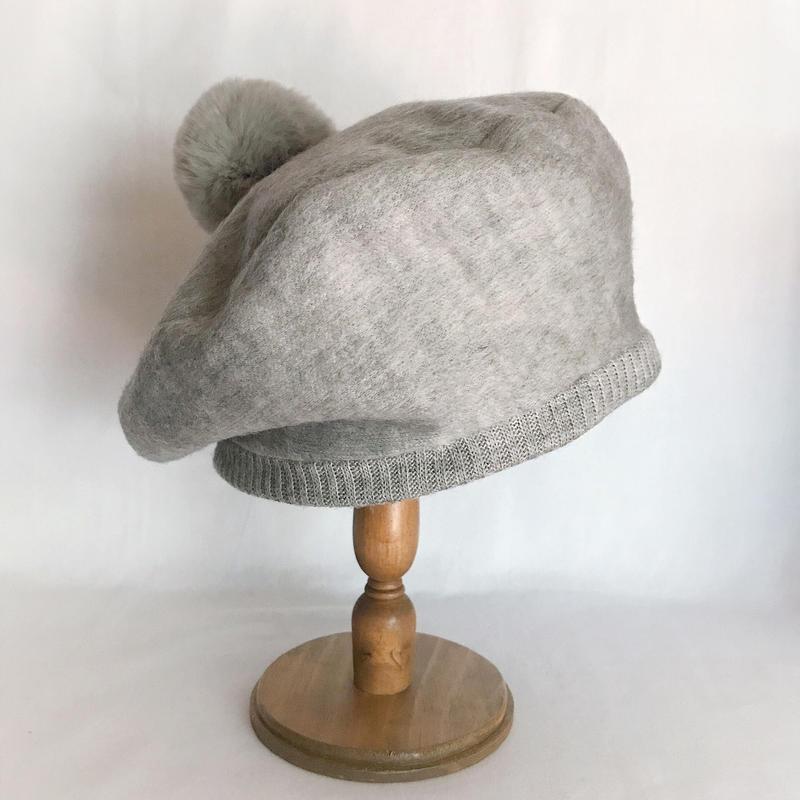 Warm knit beret2