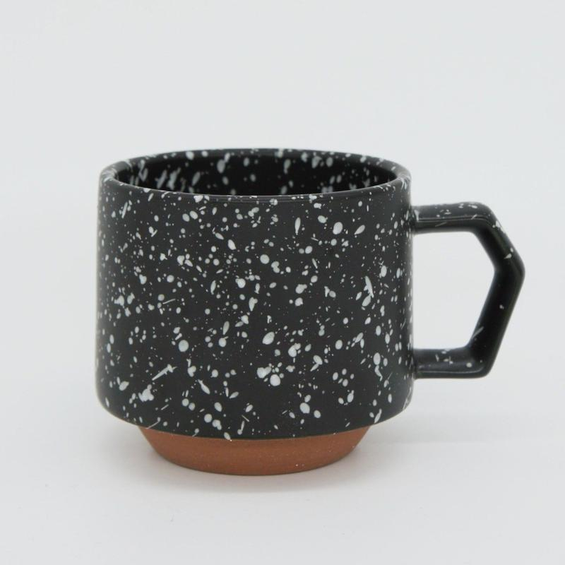 【CS002bw】CHIPS stack mug. SPLASH black-white