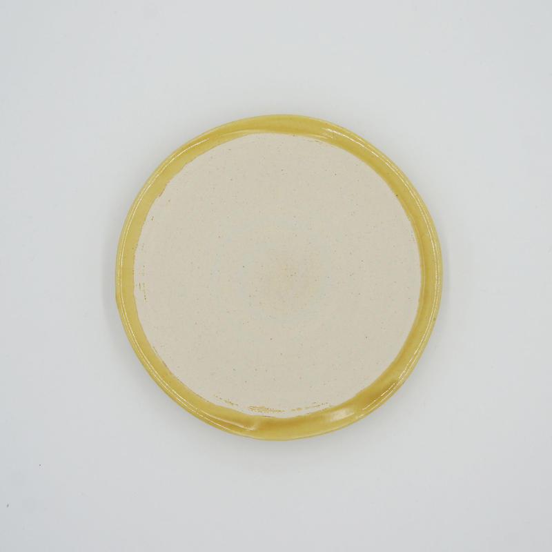 【M037mb】パンとごはんと...  艶釉の器 PLATE S mont blanc